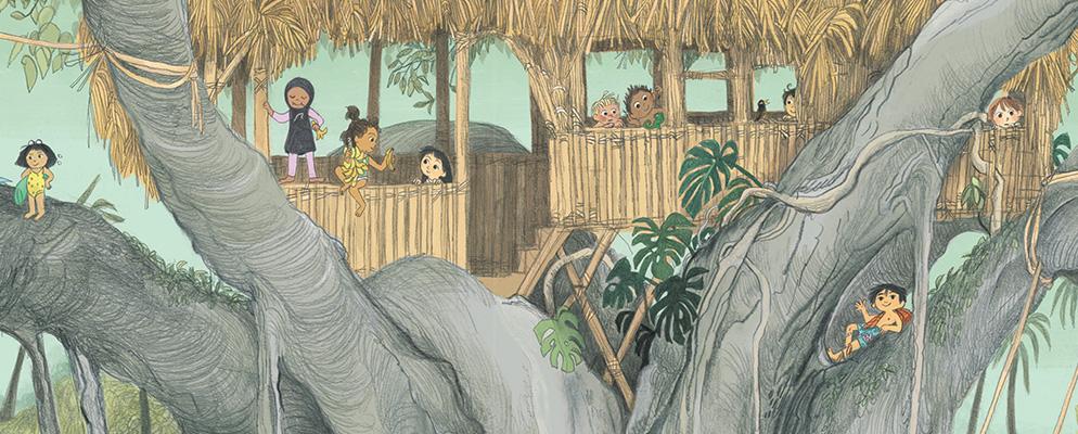 Cómo hacer una casa en un árbol
